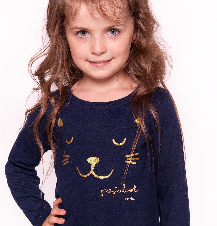 Endo - T-shirt z długim rękawem dla dziewczynki 3-8 lat D92G026_2