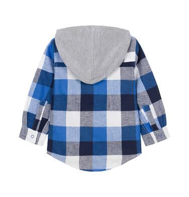 Endo - Koszula z długim rękawem i kapturem dla dziecka 0-3 lata N92F010_1
