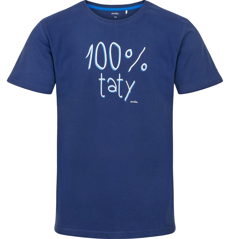 Endo - T-shirt męski z krótkim rękawem Q91G038_1