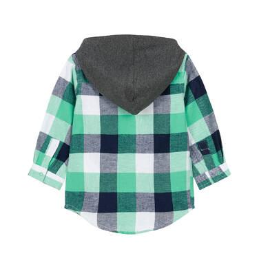Endo - Koszula z długim rękawem i kapturem dla dziecka 0-3 lata N92F010_2