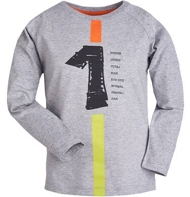 Endo - T-shirt z długim rękawem dla chłopca 9-13 lat C81G571_1