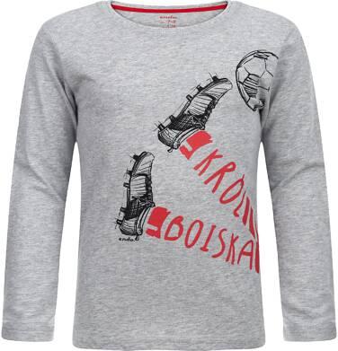Endo - T-shirt z długim rękawem dla chłopca 9-13 lat C82G602_1