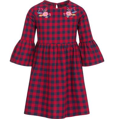 Endo - Sukienka z długim rękawem dla dziewczynki 3-8 lat D92H063_1