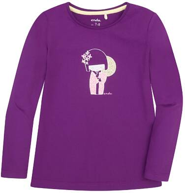 Endo - Bluzka z długim rękawem  dla dziewczynki 9-13 lat D72G544_1