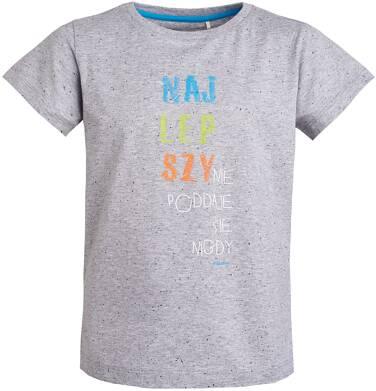T-shirt z krótkim rękawem dla chłopca 3-8 lat C81G075_1