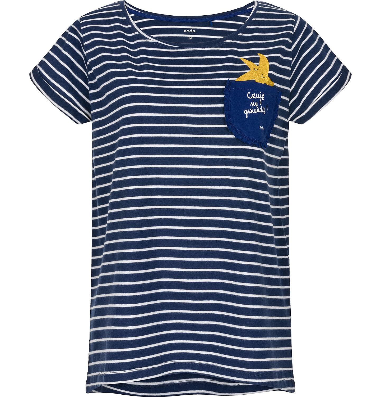 Endo - T-shirt damski z krótkim rękawem Y91G013_1