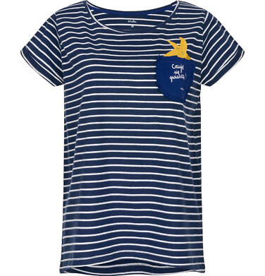 T-shirt damski z krótkim rękawem Y91G013_1