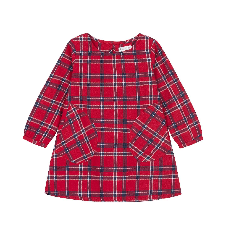 Endo - Sukienka z długim rękawem dla dziecka 0-3 lata N92H025_1
