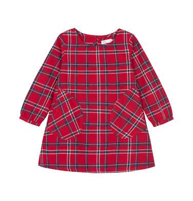 Sukienka z długim rękawem dla dziecka 0-3 lata N92H025_1