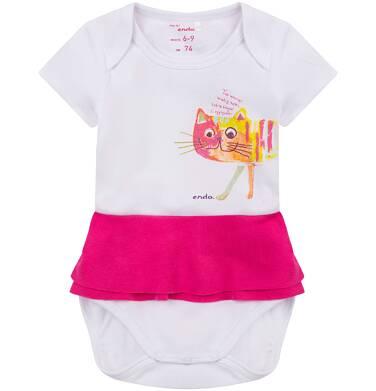 Endo - Body z falbanką dla niemowlaka N71M064_1