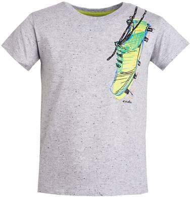 Endo - T-shirt z grafiką przód/tył dla chłopca 3-8 lat C81G107_1