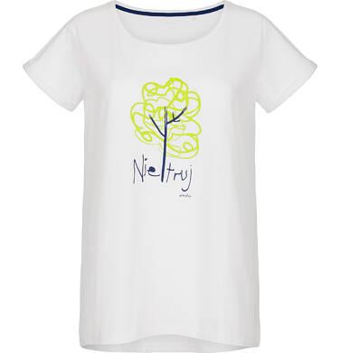 T-shirt damski z krótkim rękawem Y91G015_1