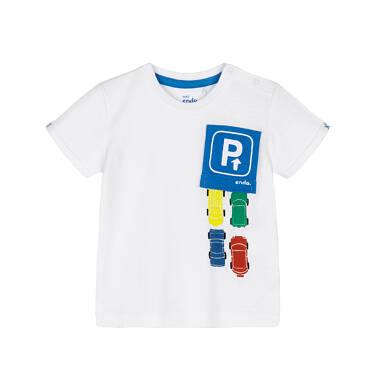 Endo - T-shirt z krótkim rękawem dla dziecka 0-3 lata N91G068_1