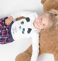 Endo - Bluzka z długim rękawem  dla dziewczynki 9-13 lat D72G516_1