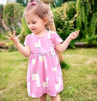 Endo - Sukienka dla dziewczynki do 2 lat, różowa N03H019_1 21