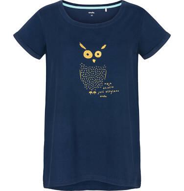 Endo - T-shirt damski z krótkim rękawem Y91G020_1