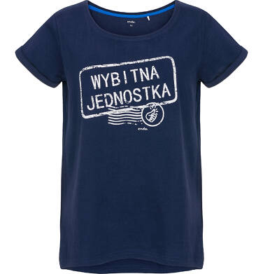 T-shirt damski z krótkim rękawem Y91G023_1