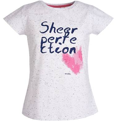 Endo - T-shirt dla dziewczynki 3-8 lat D81G169_1