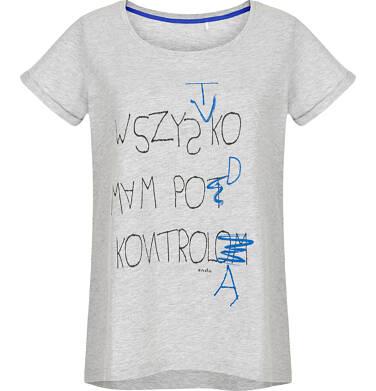 T-shirt damski z krótkim rękawem Y91G024_1