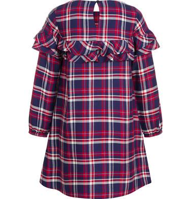 Endo - Sukienka z długim rękawem dla dziewczynki 3-8 lat D92H011_1