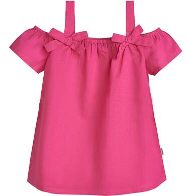 Endo - Batystowy top na ramiączkach dla dziewczynki 3-8 lat D81G171_2