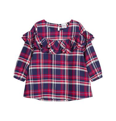 Endo - Sukienka z długim rękawem dla dziecka 0-3 lata N92H013_1