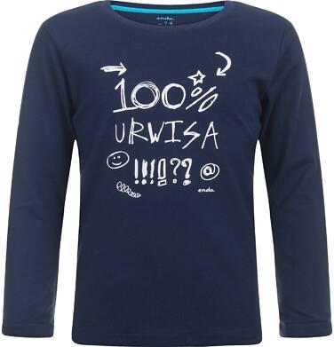 Endo - T-shirt z długim rękawem dla chłopca 9-13 lat C82G605_1