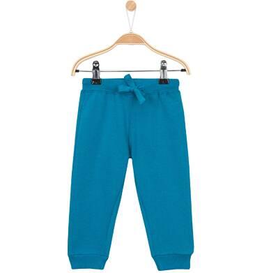 Endo - Grube spodnie dresowe ze ściagaczami dla niemowlaka N62K022_5