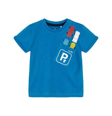 T-shirt z krótkim rękawem dla dziecka 0-3 lata N91G069_1