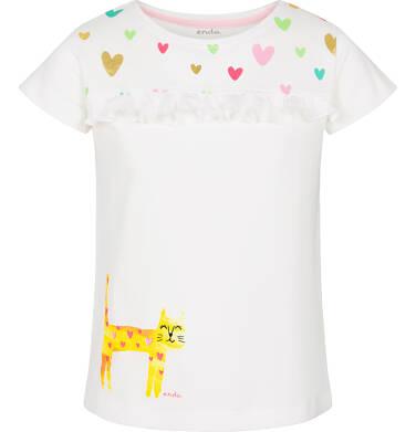 Endo - T-shirt z krótkim rękawem dla dziewczynki 3-8 lat D91G101_1