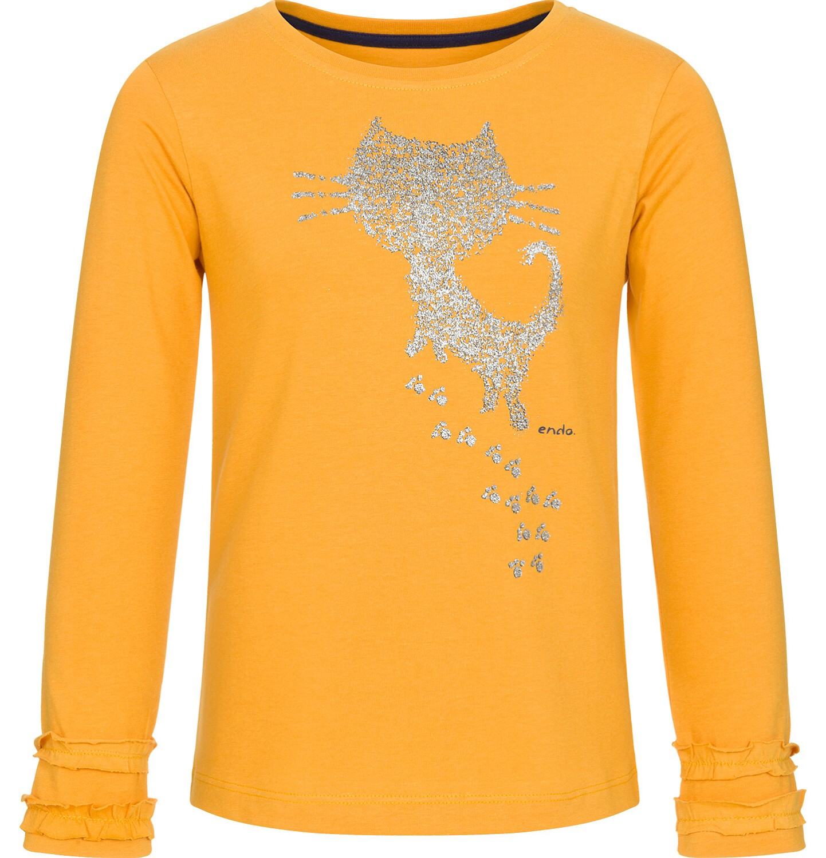 Endo - Bluzka z długim rękawem dla dziewczynki 3-8 lat D92G029_1