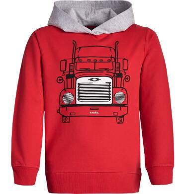 Endo - Bluza z kapturem dla chłopca 3-8 lat C82C019_1
