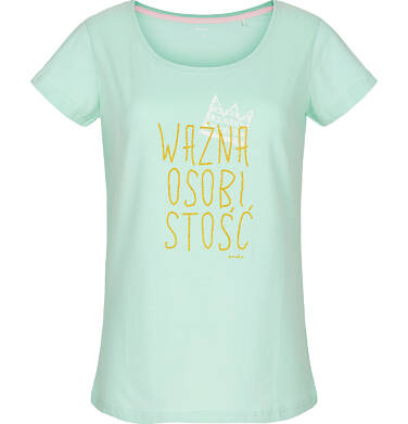 T-shirt damski z krótkim rękawem Y91G028_1