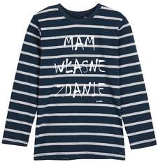 T-shirt z długim rękawem dla chłopca 3-8 lat C62G012_1