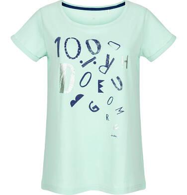 T-shirt damski z krótkim rękawem Y91G031_1