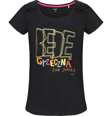 T-shirt damski z krótkim rękawem Y91G032_1