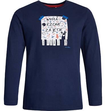 """Endo - """"Wymarzone"""" T-shirt z długim rękawem dla chłopca 9-13 lat C82G504_1"""