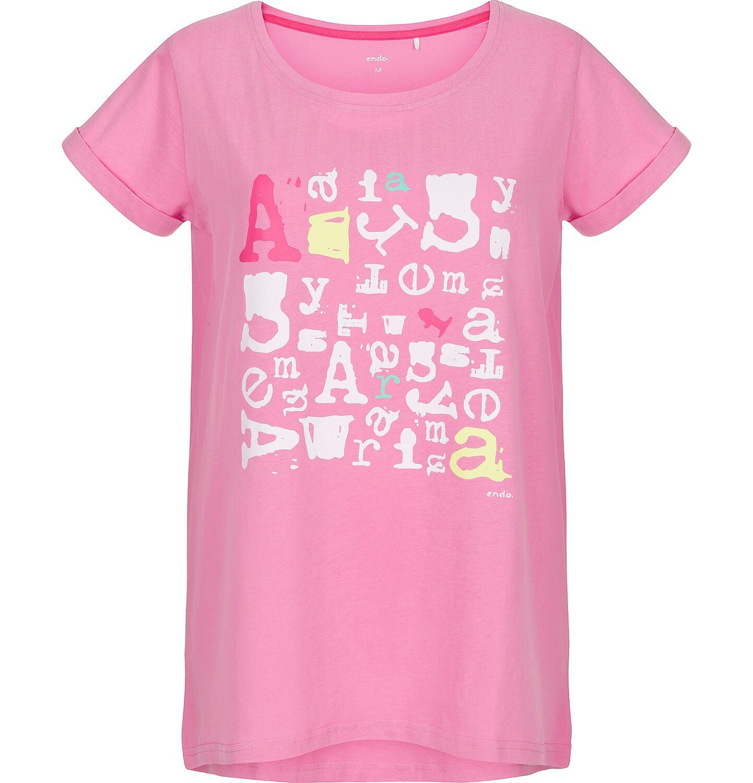 Endo - T-shirt damski z krótkim rękawem Y91G033_1