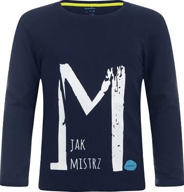 """Endo - """"M jak Mistrz"""" T-shirt z długim rękawem dla chłopca 3-8 lat C82G009_1"""