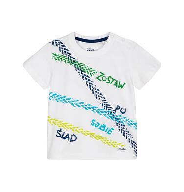 Endo - T-shirt z krótkim rękawem dla dziecka 0-3 lata N91G082_1