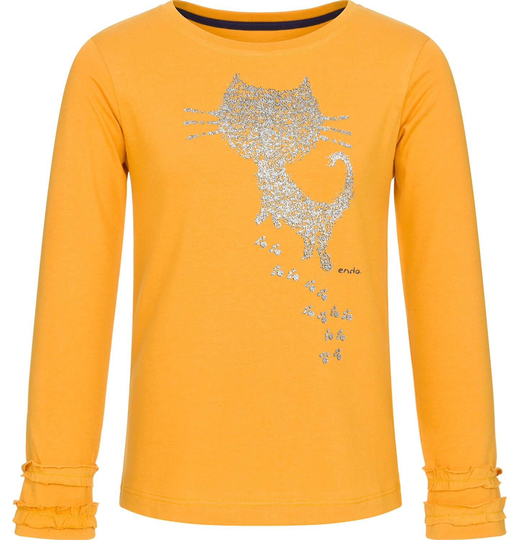 Endo - Bluzka z długim rękawem dla dziewczynki 9-13 lat D92G529_1