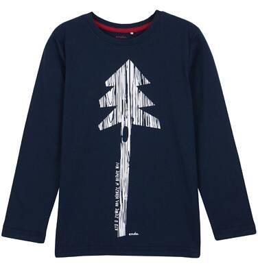 Endo - T-shirt z długim rękawem dla chłopca 3-8 lat C62G048_2