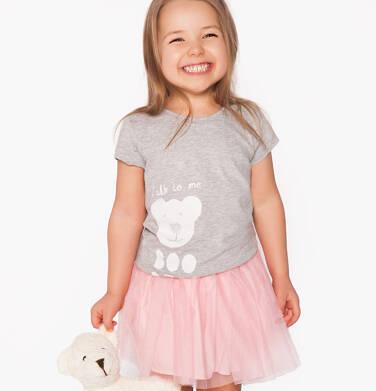Bluzka z krótkim rękawem dla dziewczynki 3-8 lat D81G165_1