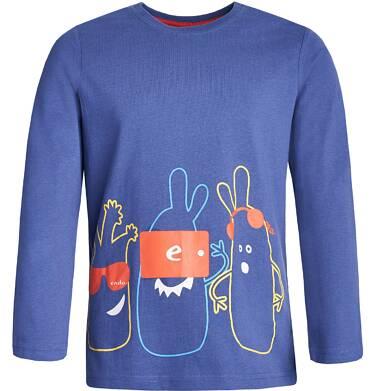Endo - T-shirt z długim rękawem dla chłopca 3-8 lat C82G013_1