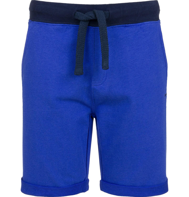 Endo - Krótkie spodenki dresowe dla chłopca, niebieskie, 2-8 lat C03K021_3