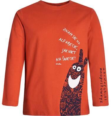 Endo - T-shirt z długim rękawem dla chłopca 3-8 lat C82G015_1