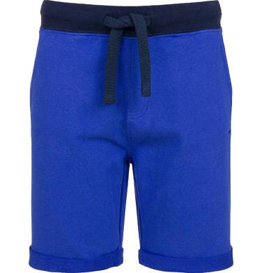Endo - Krótkie spodenki dresowe dla chłopca, niebieskie, 9-13 lat C03K521_3