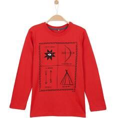 T-shirt z długim rękawem dla chłopca 3-8 lat C62G065_2