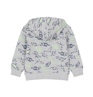 Bluza rozpinana z kapturem dla dziecka 0-3 lata N91C015_2