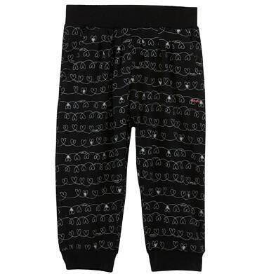 Endo - Spodnie 3/4 we wzorzysty deseń dla dziewczynki D61K030_1